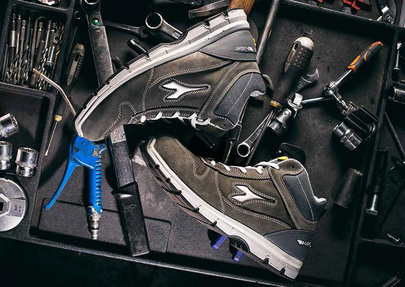 Diadora: UNIKA Diffusionha selezionato i migliori marchi di calzature antinfortunistiche
